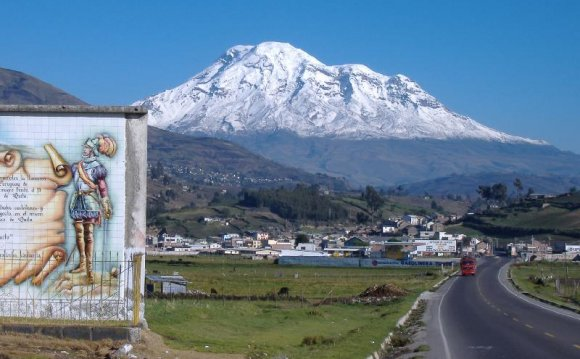 Chimborazo is just one degree
