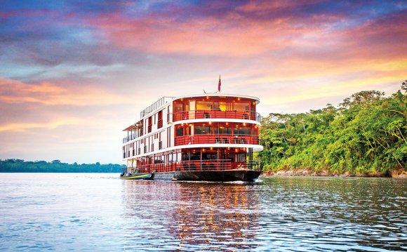 The Anakonda Riverboat cruises