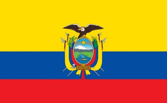 Country of Ecuador came to