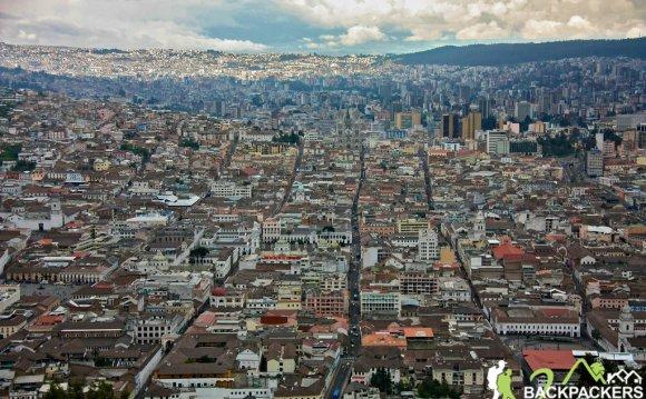 Quito, Ecuador, with one of