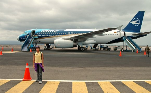 Baltra Airport - Galapagos