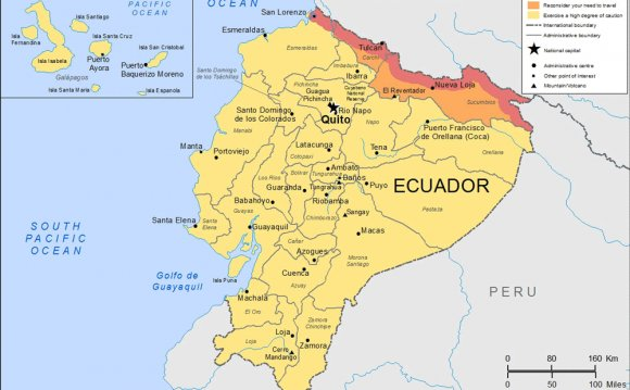 Travel Advice Ecuador