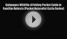 Download Galapagos Wildlife: A Folding Pocket Guide to