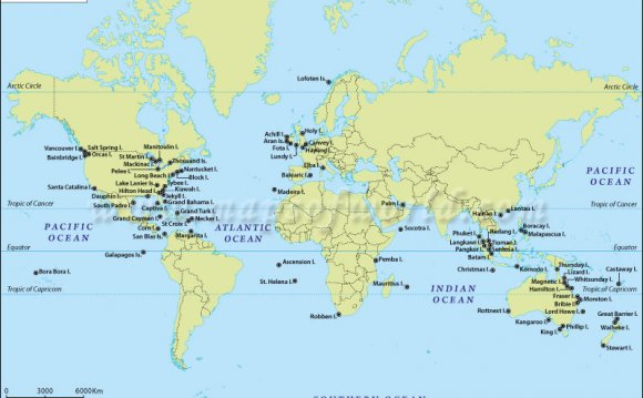 Where is Galapagos Islands on the World Map?